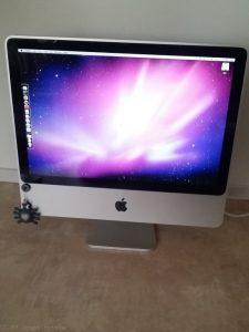 iMac8,1-all-in-one-tietokone 20-tuumaisella näytöllä