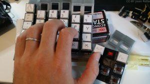 Vasemman käden viimeiset sarakkeet - parempi sommitelma kädelle, kuva 1